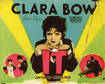 clara bow it poster