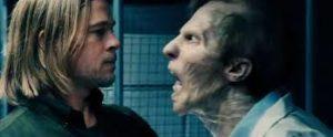 Brad Pitt and zombies