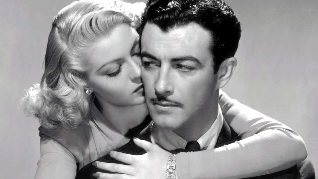 promo photo of lana turner and robert taylor