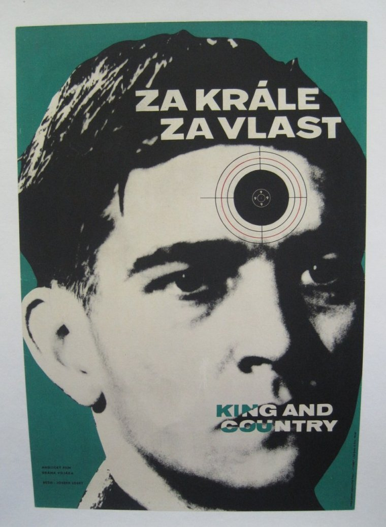 foreign poster for king and country