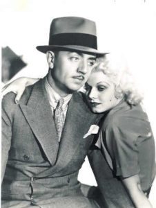 william powell and jean harlow publicity still